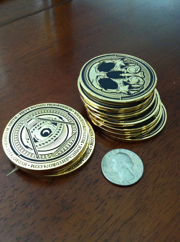Hydro74 – Business Cards (Coins) | Pseudo Ape